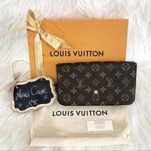 ❌SOLD❌ Auth  Louis Vuitton Felicie Wallet Clutch